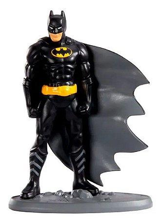 Mini Figura DC Liga Da Justiça Batman Preto - Mattel