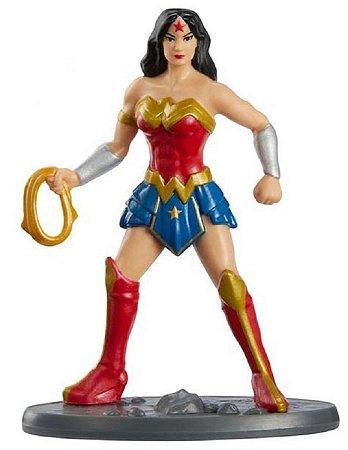 Mini-Figura - Mulher Maravilha - DC Comics - Mattel