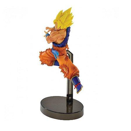 Action Figure - Goku Super Sayajin - Dragon Ball Super - Bandai Banpresto
