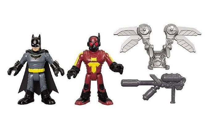 Mini Figuras DC Imaginext FireFly e Batman - Mattel