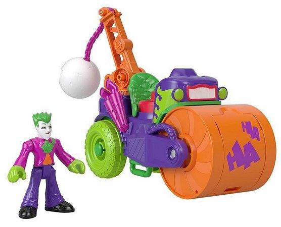 Veículo Imaginext (+3 anos) - Coringa e Carro Destruidor - DC Comics - Mattel