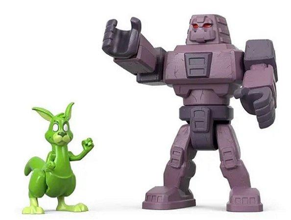 Brinquedo Jovens Titans Cinderblock E Mutano - Mattel