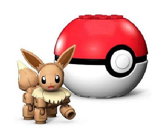 Blocos de Montar (+3 anos) - Mega Construx Eevee - Pokémon - Mattel