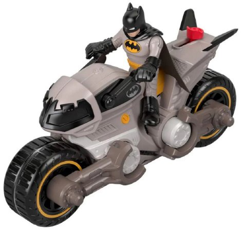 Veículo Imaginext (+3 anos) - Batman e Batmoto - DC Comics - Mattel