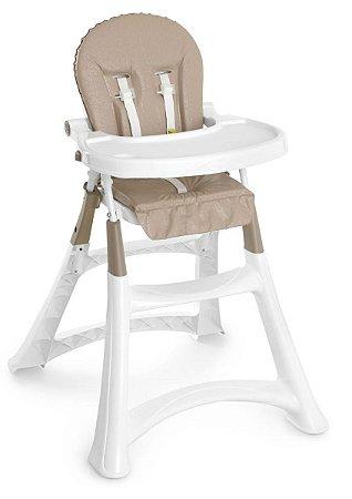 Cadeira de Alimentação Premium (até 15 kg) - Bege - Galzerano