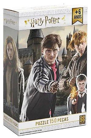 Quebra-Cabeça 150 Peças (+6 anos) - Harry Potter - Grow