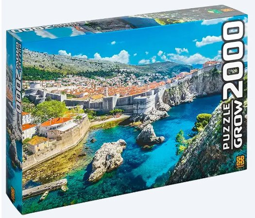 Quebra-Cabeça 2000 Peças (+12 anos) - Dubrovnik - Grow