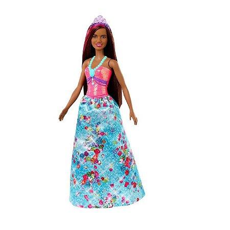 Barbie Dreamtopia (+3 anos) - Princesa Negra - Mattel