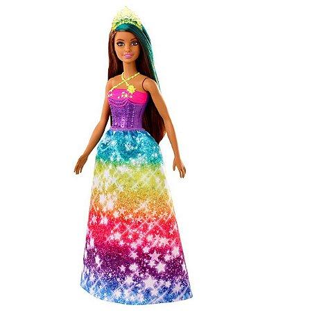 Barbie Dreamtopia (+3 anos) - Princesa Morena - Mattel