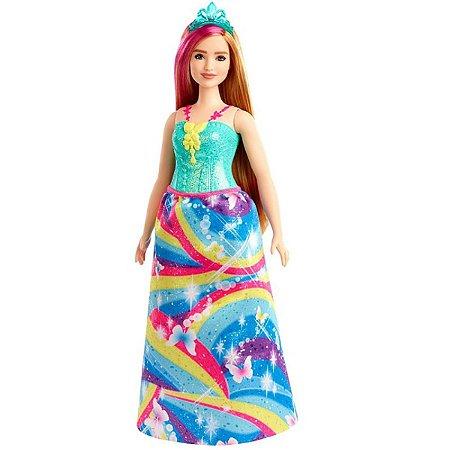 Barbie Dreamtopia (+3 anos) - Princesa Ruiva - Mattel