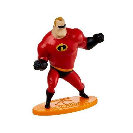 Mini-Figura - Sr. Incrível - Os Incríveis - Disney - Mattel