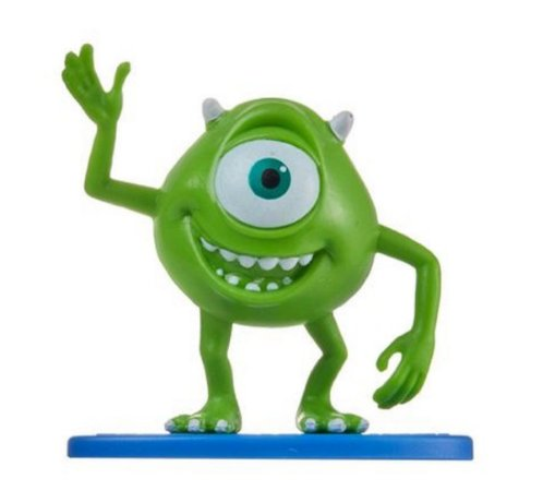 Mini-Figura - Mike Wazowski - Monstros S.A. - Disney - Mattel