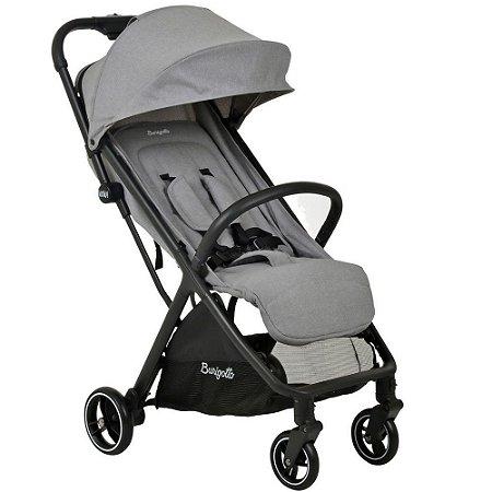 Carrinho de Bebê WOW (até 15 kg) - Cinza - Burigotto