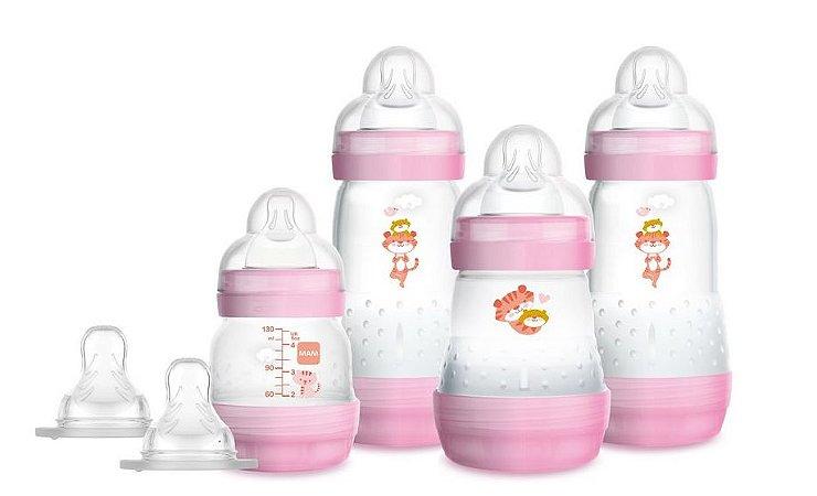 Gift Set de Mamadeira Easy Start (+0M) - Rosa - MAM