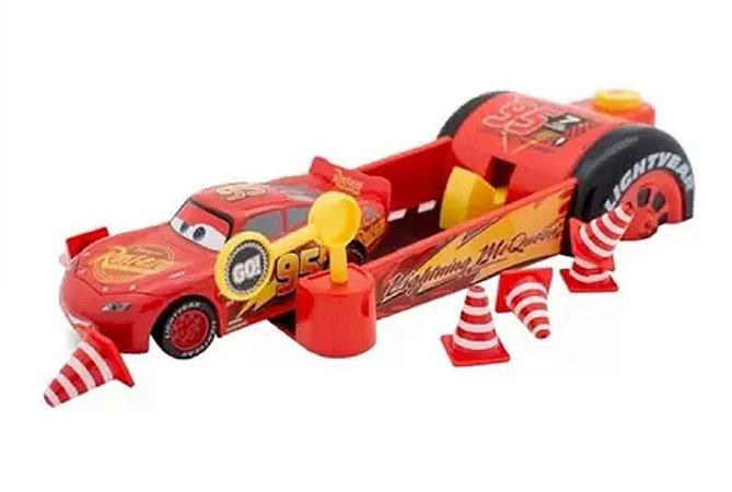 Lançador de Veículos do Relâmpago McQueen (+3 anos) - Carros - Disney - Toyng