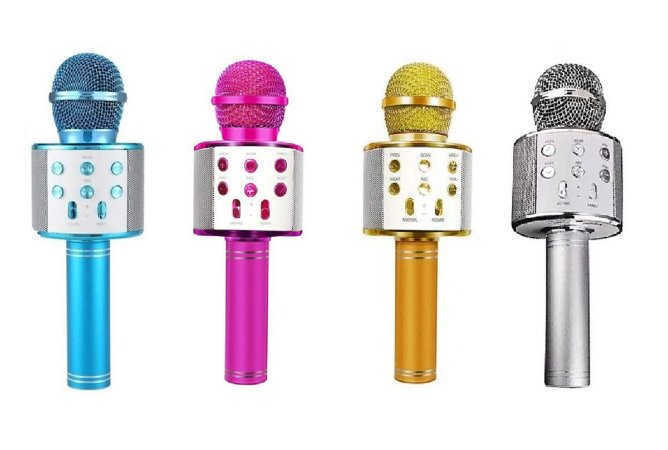 Microfone Karaokê Infantil Bluetooth (+6 anos) - Toyng