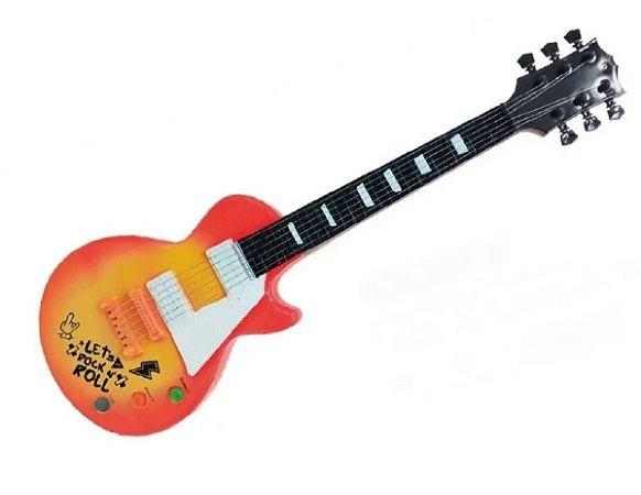 Guitarra Infantil com Som e Luzes (+4 anos) - Toyng