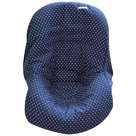 Capa de Bebê Conforto de Malha - Estrela Marinho - Minha Casa Baby