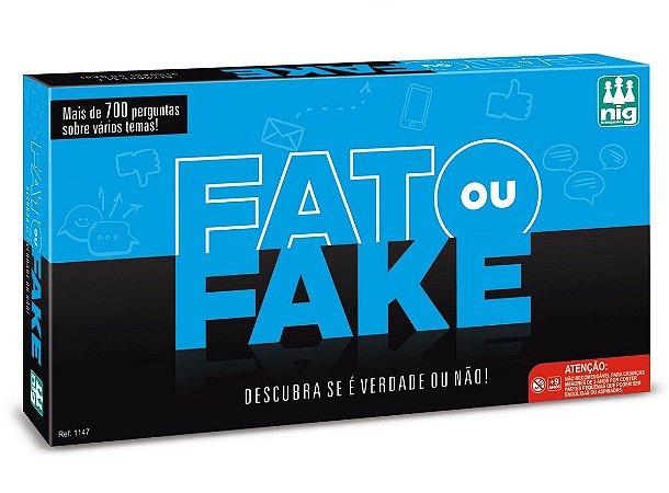 Jogo Fato ou Fake? (+10 anos) - NIG Brinquedos