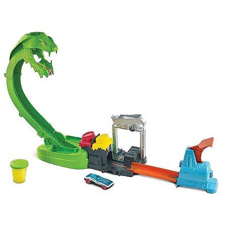 Pista Ataque Tóxico da Serpente (+5 anos) - Hot Wheels - Mattel