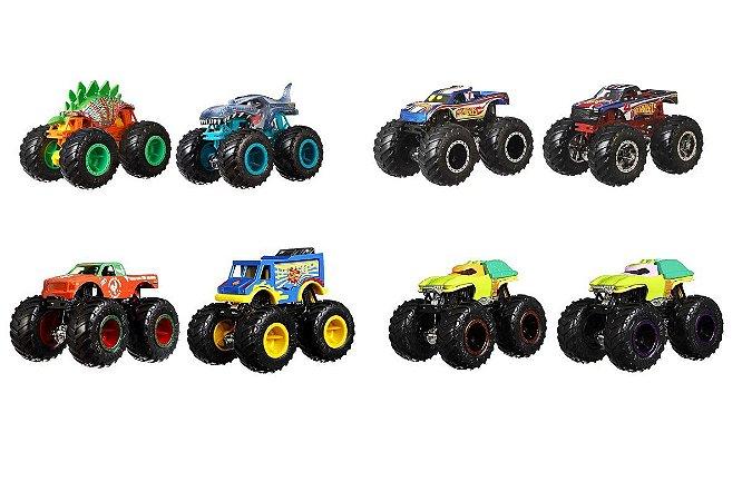 Carrinho Monster Trucks Surpresa (+3 anos) - Hot Wheels - Mattel