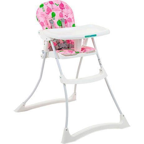 Cadeira de Alimentação Bon Appetit Xl (até 15 kg) - Passarinhos Rosa - Burigotto