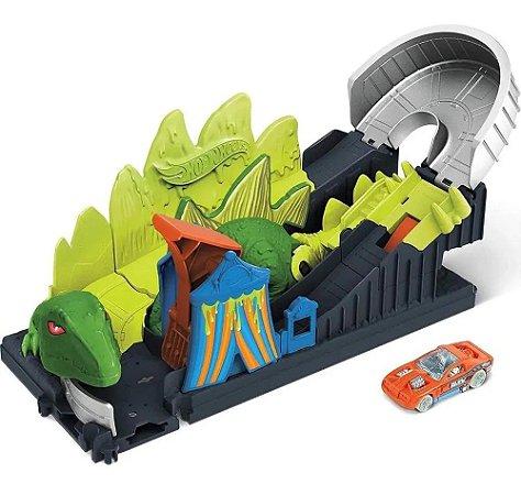 Pista City Nemesis Dino (+5 anos) - Hot Wheels - Mattel