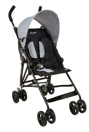 Carrinho de Bebê OI (até 15 kg) - Cinza - Burigotto