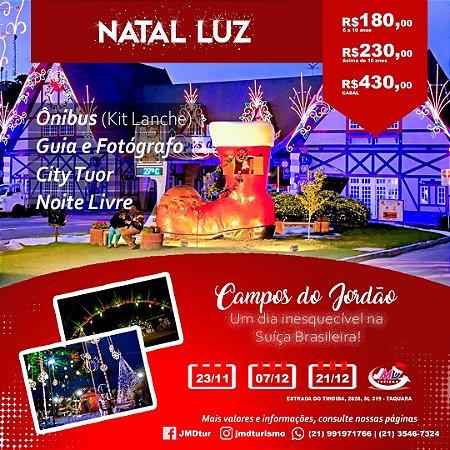 Natal Luz em Campos do Jordão | São Paulo/SP