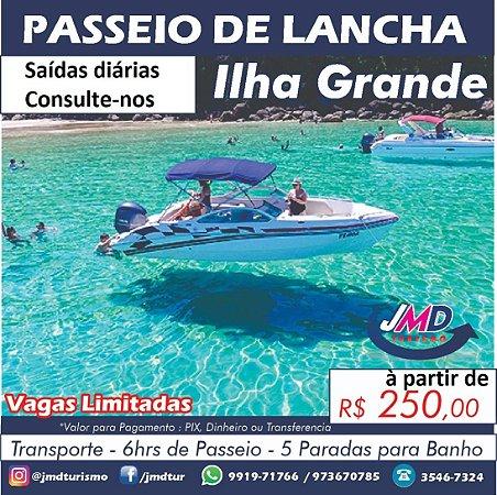 Passeio de Lancha em Ilha Grande | Rio de Janeiro/RJ