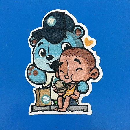 Sticker - Agabê&Criança