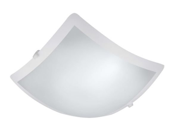 Plafon New Clean Led Quadrado 10w 127v 25x25cm Branco