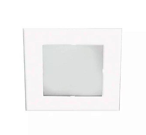 Spot Embutir Cabinet Quadrado 7,3cm C/led 1w