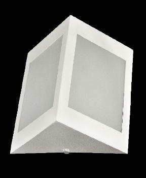 Arandela  Triangular 20cm Branca