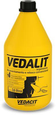 Cal Líquido Vedalit com 3,6 Litros
