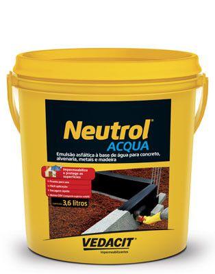 Neutrol Acqua -Galão de 3,6 Litros