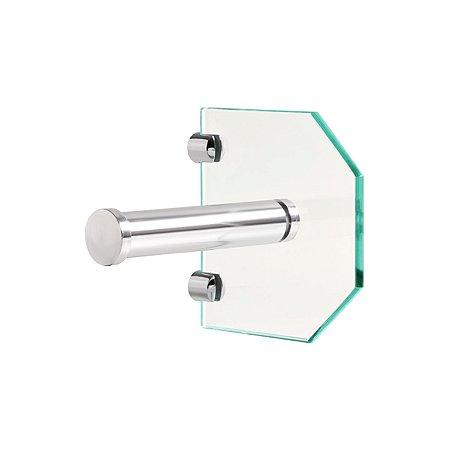Porta Papel de Vidro Incolor