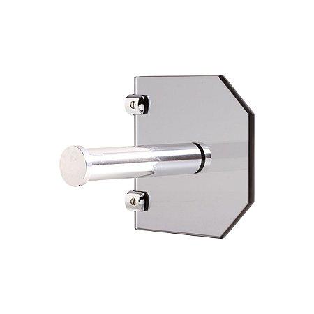 Porta Papel de Vidro Fumê