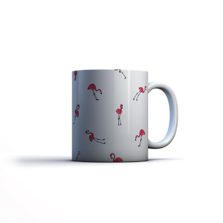 Caneca Yuzo 23x9,5cm Flamingo