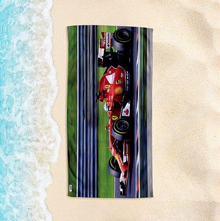 Toalha de Praia Yuzo 70x140cm Formula 1