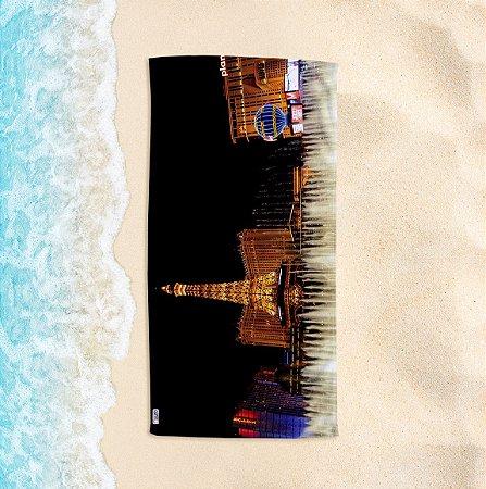 Toalha de Praia Yuzo 70x140cm Cartão Postal Vegas