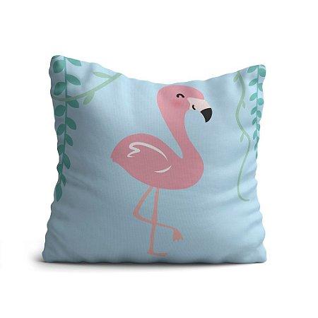 Almofada Avulsa Yuzo 45x45cm Infantil Flamingo