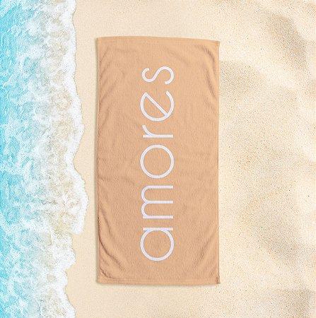 Toalha de Praia Yuzo 65x135cm Praias Amores