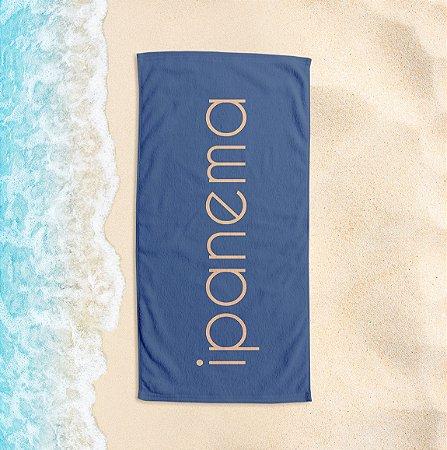 Toalha de Praia Yuzo 65x135cm Praias Ipanema