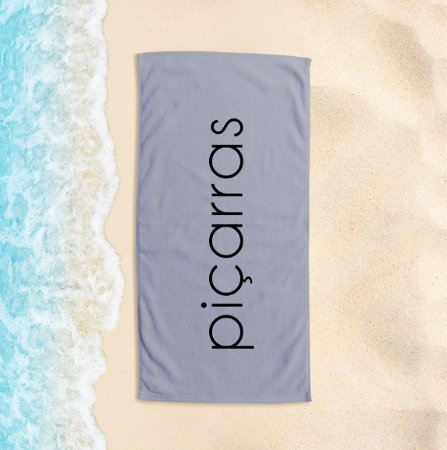 Toalha de Praia Yuzo 65x135cm Praias Piçarras