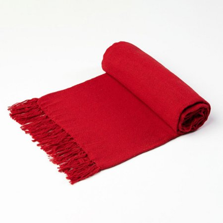 Manta Xale 1,30 x 1,30mt Vermelho