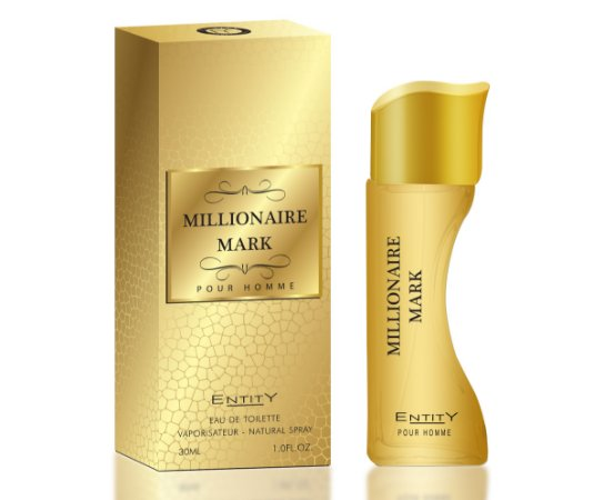Millionaire Mark Perfume Entity Masculino Eau De Toilette 30ml