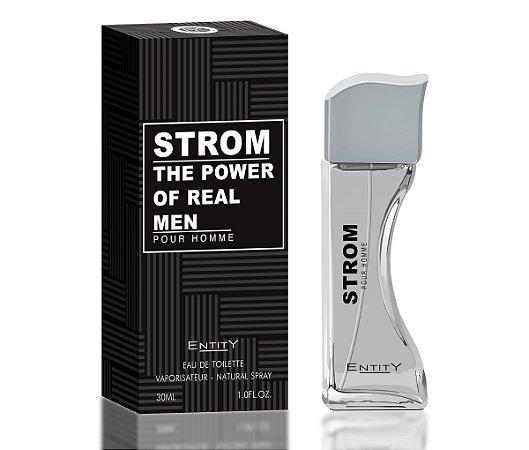 Strom The Power Of Real Perfume Entity Masculino Eau De Toilette 30ml