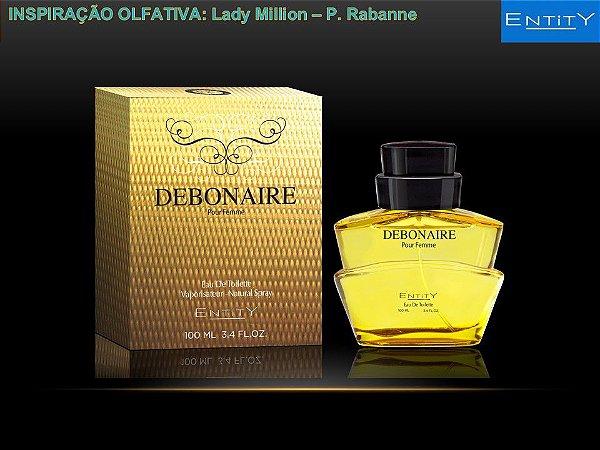 Debonaire Perfume Entity Feminino Eau De Toilette 100ml