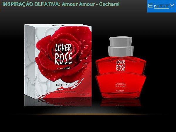 Lover Rose Perfume Entity Feminino Eau De Toilette 100ml